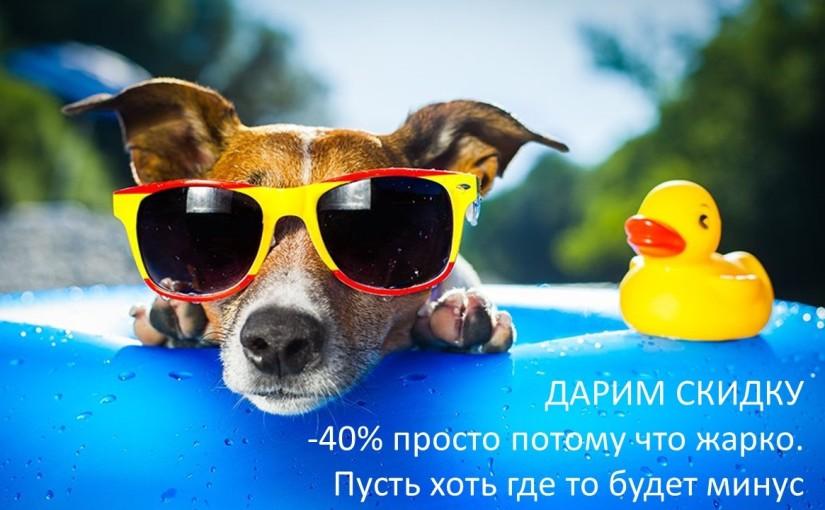 Летняя акция 01.07.2017 на обучение — 40%!!!!
